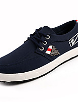 cheap -Men's Shoes PU Spring Fall Comfort Sneakers for Casual Black Blue