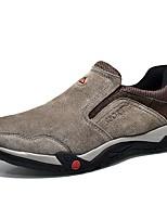 Недорогие -обувь Свиная кожа Кожа Весна Осень Обувь для дайвинга Удобная обувь Мокасины и Свитер Для пешеходного туризма для Повседневные на