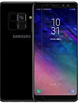 preiswerte -Displayschutzfolie Samsung Galaxy für A8+ 2018 PET 1 Stück Front & Back & Kamera Objektivschutz Vorderer Bildschirmschutz Anti-Reflex