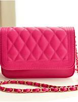 cheap -Women Bags PU Shoulder Bag Buttons Zipper for Casual All Season Purple Red White