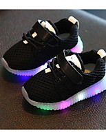 cheap -Girls' Shoes Tulle Spring Fall Comfort Sneakers for Casual Pink Black White