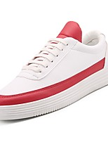 cheap -Shoes PU Fall Comfort Sneakers for Casual White Black Red