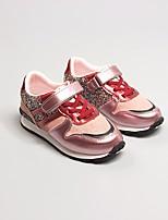 Недорогие -Мальчики Девочки обувь Искусственное волокно Весна Осень Удобная обувь Кеды для Повседневные Черный Розовый