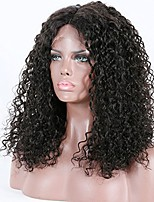 cheap -Premier Affordable Human Hair Brazilian Unprocessed Human Hair Glueless 360 Lace Frontal  Wigs Long Curly 180% Density Hair Wigs For Afircan Americans