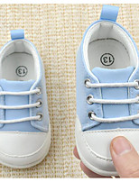 cheap -Baby Shoes Fabric Spring Fall Comfort First Walkers Sneakers for Casual Light Blue Pink Blue Red White