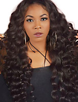cheap -250% Density Loose Wave Lace Front Human Hair Wigs For Black Women Pre Plucked Peruvian Virgin Hair Wig Full Ends