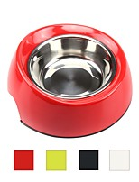 cheap -Cat Dog Outfits Feeders Pet Bowls & Feeding Multi layer Durable White Black Red Green