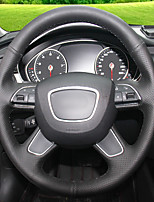 cheap -Automotive Steering Wheel Covers(Leather)For Audi 2013 A4L A6L