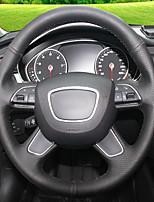 Недорогие -автомобильные крышки рулевого колеса (кожа) для Audi 2013 a4l a6l