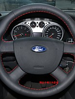 cheap -Automotive Steering Wheel Covers(Leather)For universal Ford General Motors Focus