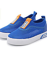 cheap -Boys' Shoes Tulle Spring Fall Comfort Sneakers for Casual Royal Blue Pink Gray