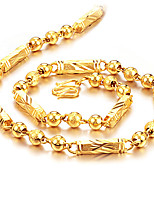 cheap -Men's , Fashion Rock Hiphop Chain Necklace , Gold Plated Titanium Steel Chain Necklace , Daily Street