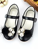 Недорогие -Девочки обувь Искусственное волокно Весна Осень Удобная обувь Детская праздничная обувь На плокой подошве для Повседневные Черный