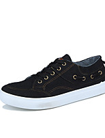 cheap -Men's Shoes Denim Canvas Spring Fall Comfort Sneakers for Casual Black Gray Blue