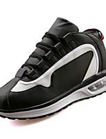 economico -Da donna Scarpe PU (Poliuretano) Primavera Autunno Comoda Sneakers Piatto Punta tonda per Casual Bianco Nero Rosa e bianco Bianco/nero