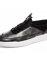 cheap -Shoes PU Spring Fall Comfort Sneakers for Casual Gold Black Gray