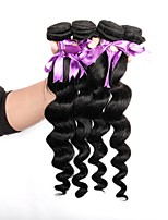 cheap -Brazilian Unprocessed Loose Wave Human Hair Weaves Hot Sale 0.2