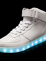 cheap -Men's Shoes PU Leather Spring Fall Light Up Shoes Sneakers for Casual White Black