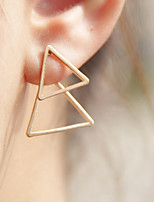 cheap -Women's One-piece Suit Stud Earrings , Geometric Pattern / Triangle Jewelry Party Daily Costume Jewelry