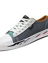 cheap -Men's Shoes PU Spring Fall Comfort Sneakers for Outdoor Beige Gray Blue