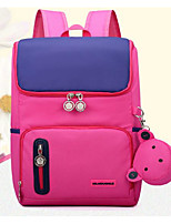 cheap -Children's Bags Nylon Backpack Zipper for Casual All Seasons Blushing Pink Dark Blue Purple Royal Blue