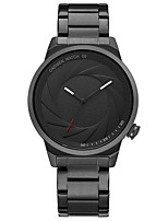cheap -CADISEN Women's Fashion Watch Japanese Quartz Water Resistant / Water Proof Casual Watch Stainless Steel Band Fashion Cool Black