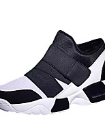 cheap -Shoes Tulle Spring Fall Comfort Sneakers for Casual White Black Red