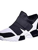 Недорогие -обувь Тюль Весна Осень Удобная обувь Кеды для Повседневные Белый Черный Красный