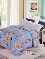 cheap -Super Soft,Printed Floral Polyester Blankets