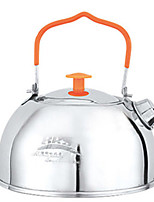 cheap -Camping Kettle Tea Kettles Lightweight Easy to Install Stainless Steel for Hiking Camping