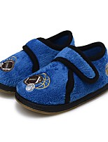 cheap -Boys' Shoes Fleece Spring Fall Vulcanized Shoes Comfort Flats Magic Tape for Casual Royal Blue