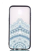 cheap -Case For Samsung Galaxy J7 (2017) J5 (2017) Transparent Embossed Pattern Back Cover Mandala Hard PC for J7 (2017) J5 (2017) J3 (2017)