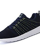 cheap -Shoes PU Spring Fall Comfort Sneakers for Casual Black Gray Blue