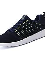 preiswerte -Schuhe PU Frühling Herbst Komfort Sneakers für Normal Schwarz Grau Blau