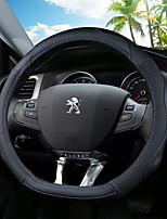abordables -Couvertures de volant de voiture (cuir) pour peugeot 308 308s