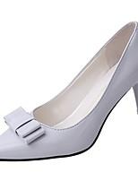 Недорогие -Жен. Обувь Полиуретан Весна Осень Удобная обувь Обувь на каблуках На шпильке для Бежевый Светло-серый Розовый