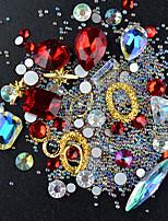cheap -Outfits Rhinestones Crystal Nail Glitter Multi-Color Nail Art Design