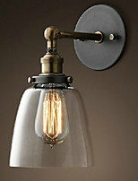 cheap -Eye Protection Simple Vintage Wall Lamps & Sconces For Living Room Metal Wall Light 220V 40W