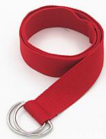 cheap -Women's Fabric Waist Belt,Black Orange Red Yellow Royal Blue Casual