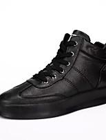 economico -Per uomo Scarpe PU sintetico Primavera Autunno Suole leggere Sneakers per Casual Bianco Nero Rosso