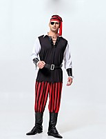 cheap -Oktoberfest/Beer Cosplay Costume Movie Cosplay Black Top Pants Headpiece Sleeves Boots More Accessories Eye Mask Halloween Oktoberfest