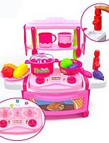 Недорогие -Игрушечная еда и всё для кухни Игрушки Любые формы Еда и напитки утонченный моделирование ABS Детские Взрослые 22 Куски