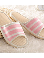 cheap -Women's Shoes Fabric Spring Fall Comfort Slippers & Flip-Flops Low Heel for Casual Orange Green Pink