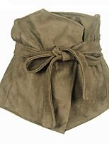 cheap -Women's Fabric Wide Belt,Camel Vintage