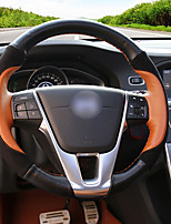 cheap -Automotive Steering Wheel Covers(Leather)For Volvo All years S60l S80l V40 V60 XC60