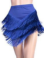 economico -Balli latino-americani Pantaloni Per donna Esibizione Elastene Nappa (e) Senza maniche Cadente Gonne