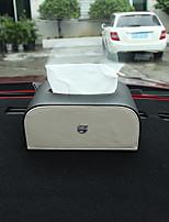 preiswerte -Ablagefächer fürs Auto Tissue Box Für Volvo Alle Jahre V60 S90 V40 S60 XC90 XC60 S60l