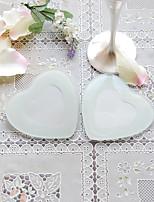 abordables -2pcs / boîte - dessous de verre faveurs de mariage