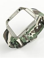 Недорогие -Ремешок для часов для Fitbit Blaze Fitbit Повязка на запястье Современная застежка Материал