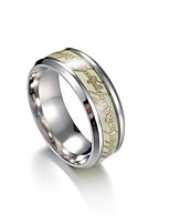 cheap -Men's Women's Band Ring , Asian Vintage Stainless Steel , Costume Jewelry Gift Daily